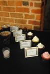 Frames showing cupcake flavors
